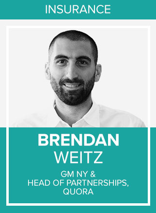- Brendan is the head of Quora's NY office and leads all ads product partnerships with data, supply, api, and demand partners.Click for more