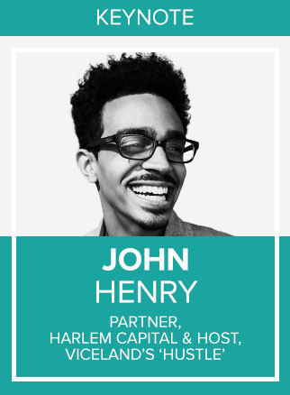 - John Henry is an American entrepreneur and investor. He sold his first company by the age of 21 and has been featured as Forbes 30 Under 30 and Ebony Power 100. Now, Henry is a Partner at Harlem Capital, a $25mm Early Stage VC firm and hosts the TV show HUSTLE on VICELAND.