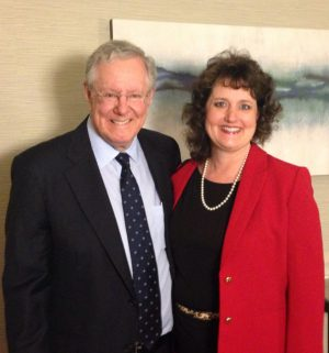Steve Forbes was one of the keynote speakers at the National Speakers Association Convention.
