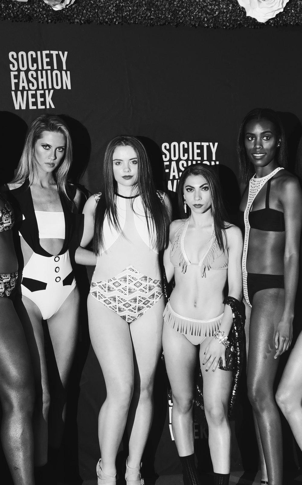 Hannah Noelle Models at NYFW Spring 2019.