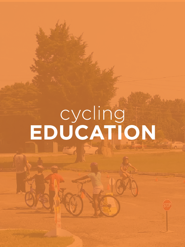 Our Educational Programs - Learn more about why we were founded and what we're doing to to help build and protect our local cycling community.