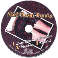 THE SKIRT CHASIN' DRUNKS OF NYC was a short-lived, punk & bluesy spin-off project from the roaring streets of the Lower East Side of NYC.   Genre:  Modern Rock   Release Date:  2004  © Copyright - RIVERCAT Records