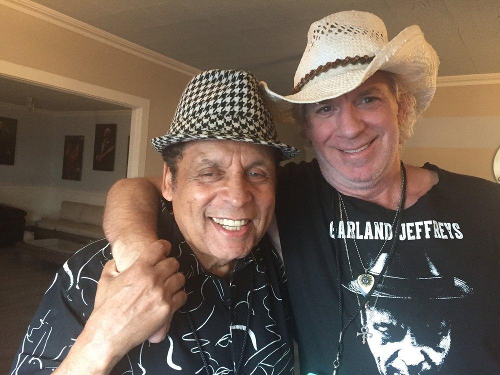 Mark with Garland Jeffreys