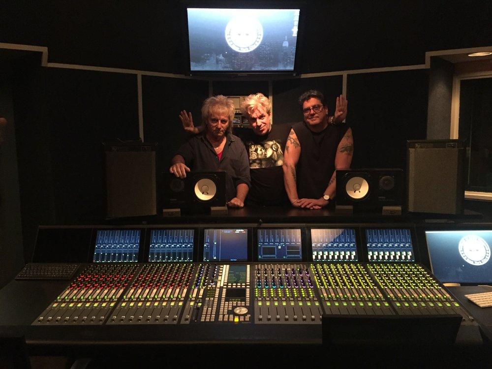 Rivercat in the studio