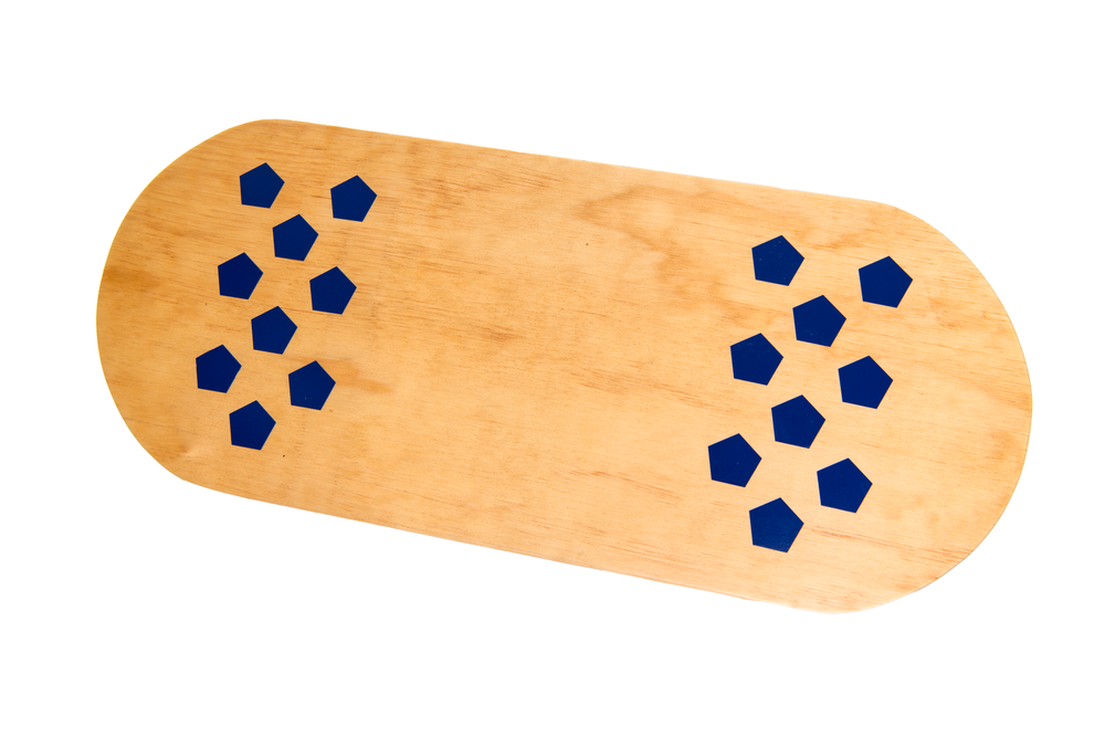 Our Casper Boards convert from a foot rest to a balance board.