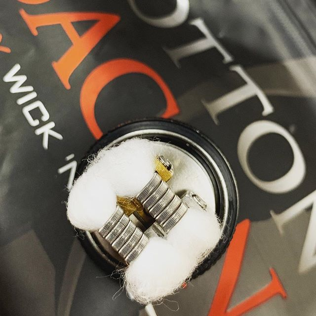 New cotton new coils, fresh!  #vapedaily #instavape #vapes #cotton #coilporn #coil #vape #vapeporn #vapenation #vaper #vapers #vapeon #vapelife #vapefam #vapestyle #vapecommunity #vapestagram #vaping #vapingcommunity #vapingisthefuture
