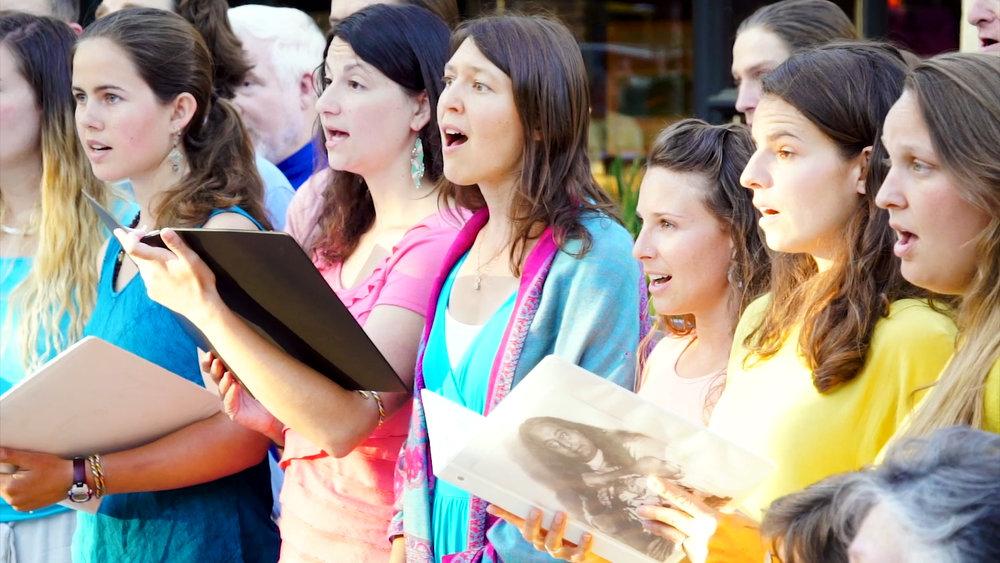 Rose and women singing outdoors.jpg