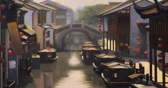 Suzhou's Famous Canals - Click for Wikipedia Info