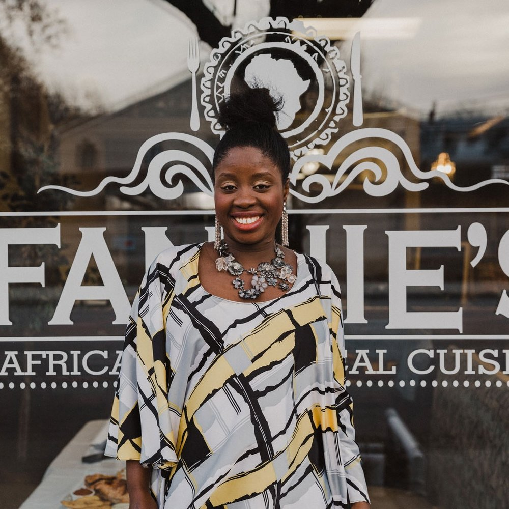 Fannie Gibson, Co-Owner and Chef