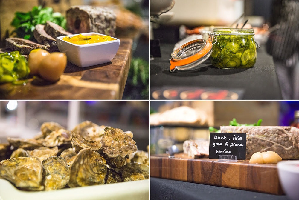 Private party Dante's catered for at Windsor Racecourse for Jigsaw-Cloud.