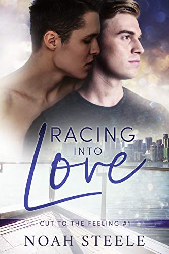 Racing into love - Written by Noah SteeleReleases January 15, 2019Aiden Reed is stuck in a major boy rut.Every date ends in something worse than disaster—boredom. That is, until star racer Derrek Luna crashes the end of a terrible date at Aiden's cozy bookstore. Derrek's confident charm and killer good looks throw Aiden's quiet, cautious world into chaos when he says he wants a shot at Aiden's heart.Derrek is sure Aiden is different. He's sure Aiden won't just vanish without a word. Not like the others did. But the closer Derrek gets to the man who charmed him without a word from across a crowded room, the more his life on the track threatens to keep them apart.Aiden is ready to take the risk—he thinks. What if Aiden's panic attacks scare Derrek away? What if Derrek's ghosts come back to haunt him? …what if it doesn't matter because they're already in love?Racing into Love is a gay instalove romantic drama ready and waiting to take you from zero to sixty with every turn of the page.