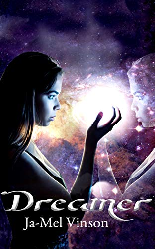 """Dreamer - Written by Ja-Mel VinsonReleases March 19, 2019The day before moving into her new dorm, college freshman, Maya Lilac, has a nightmare that ends with her coming face-to-face with a second version of herself. After being haunted by the dream during move-in day, she finally comes in contact with her double, nicknamed """"Lucent"""", and learns that she actually has powers and can—among other things—make her dreams come true.Maya soon discovers, however, that she's the True Dreamer, a person reaching back as far as Joan of Arc that's tasked with protecting her species from any and all threats… including her seemingly-peaceful and non-combative double. But, not everyone shares Maya's vision that her clone isn't out to harm anybody, especially her mother. As Maya and her mother fight over whether Lucent is a legitimate threat, Maya trains in her now-active powers to fulfill her destiny of protecting the world, whether she has to take care of Lucent or not."""