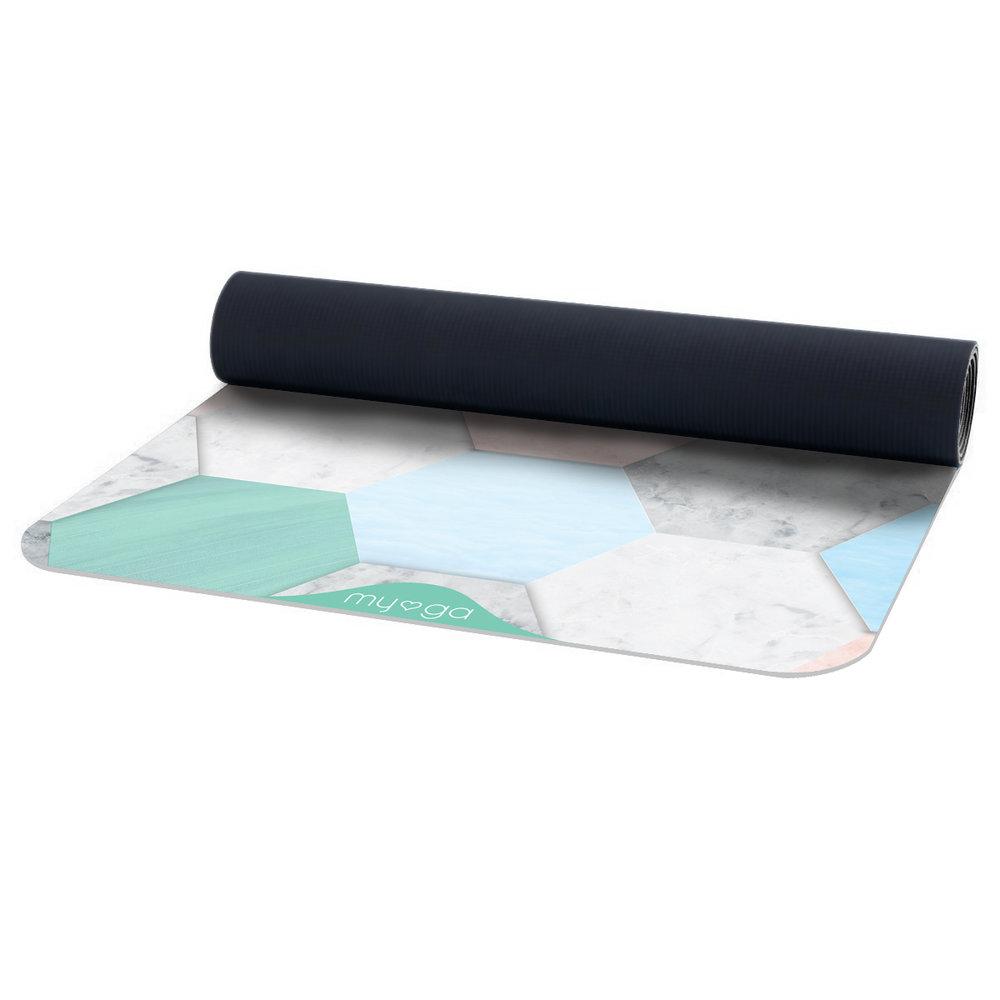 Vegan Suede Yoga Mat - Terraza