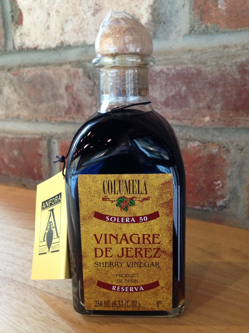 Just in is our 50 year Spanish Sherry Vinegar, made with the same grapes as the expensive Spanish Sherry.