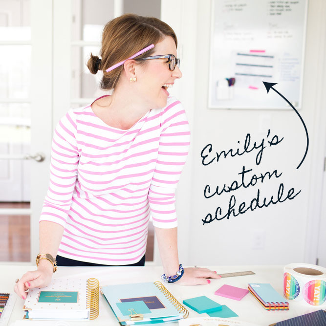 Custom in-house schedule for Emily Ley by Copper Bottom Design Co.: Working with Heather to merge our wholesale and retail needs into one production schedule was such a smart decision for our company. Not only were we able to take Heather's detailed guidelines and advice and run with them, we were able to tweak them easily as we put the process in place internally. I can't recommend Heather's expertise enough.