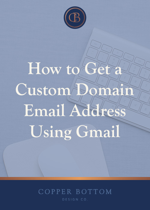 Having a  custom domain  email address will elevate your business to new heights—and getting that level of professionalism is easier (and more important) than you think.
