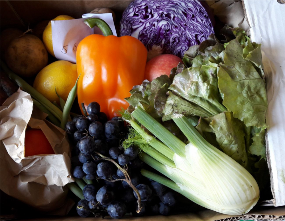 FREE home delivery - Get your fresh, organic food delivered right to your door.