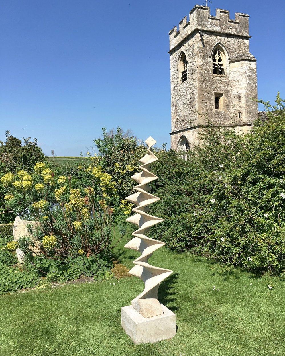 Whats Happened - Ancaster weatherbed Limestone193cm x 58cm x 40cm2017140kg