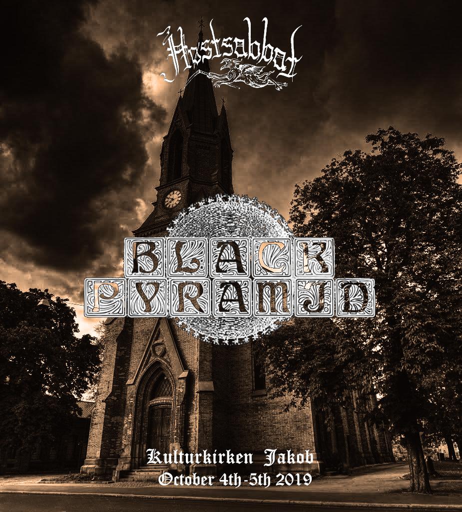Black Pyramid Høstsabbat 2019 Rock Stoner Metal Festival