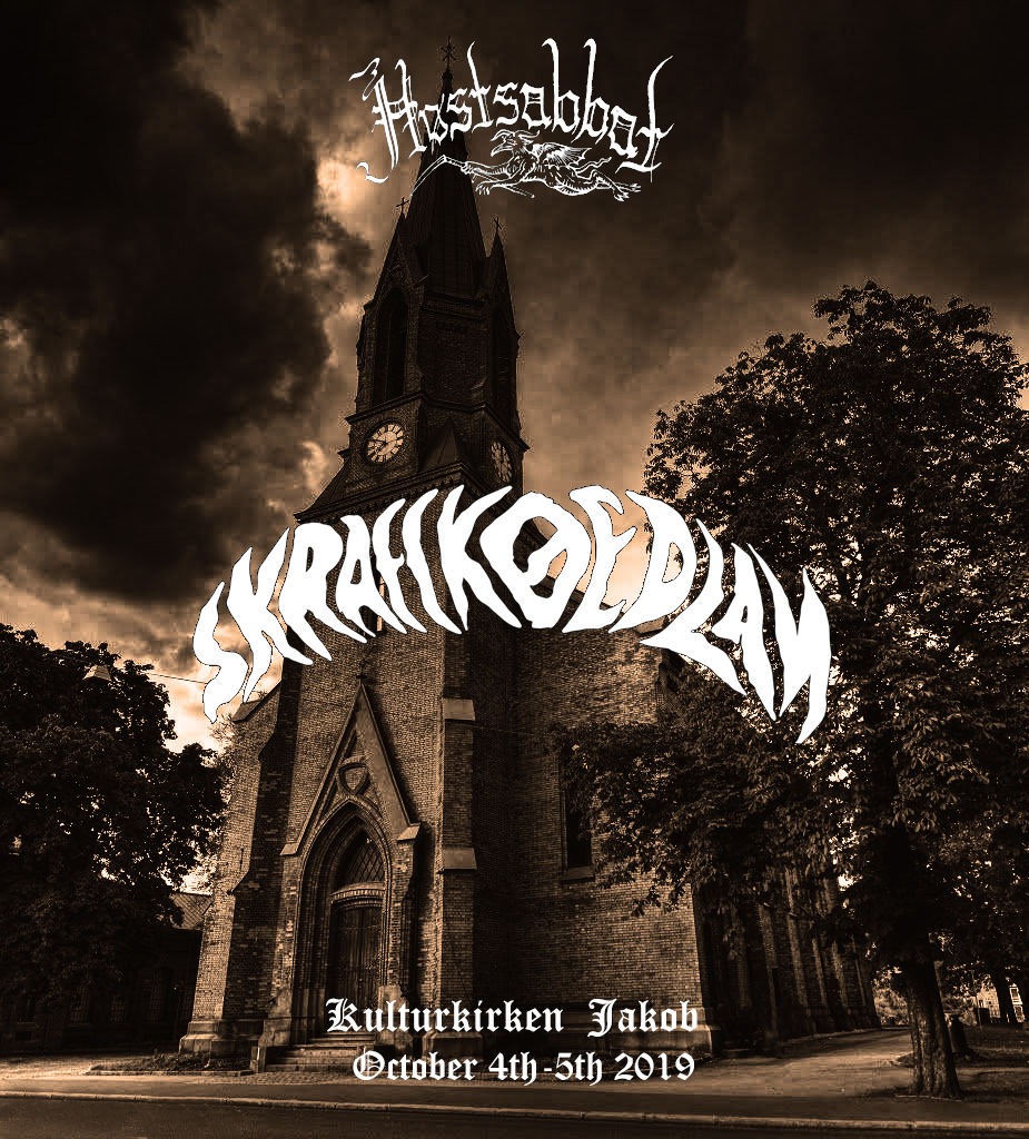 SKRAECKOEDLAN Høstsabbat festival 2019 Oslo Stoner Psych Doom Rock Metal