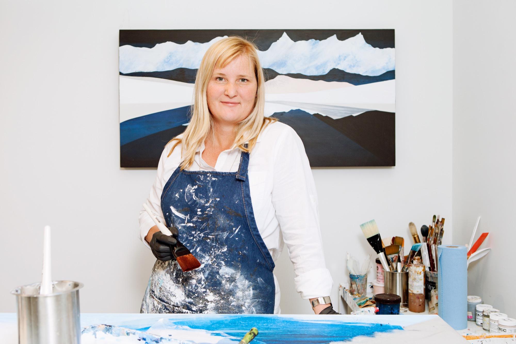 Modern Painter Sarah Winkler