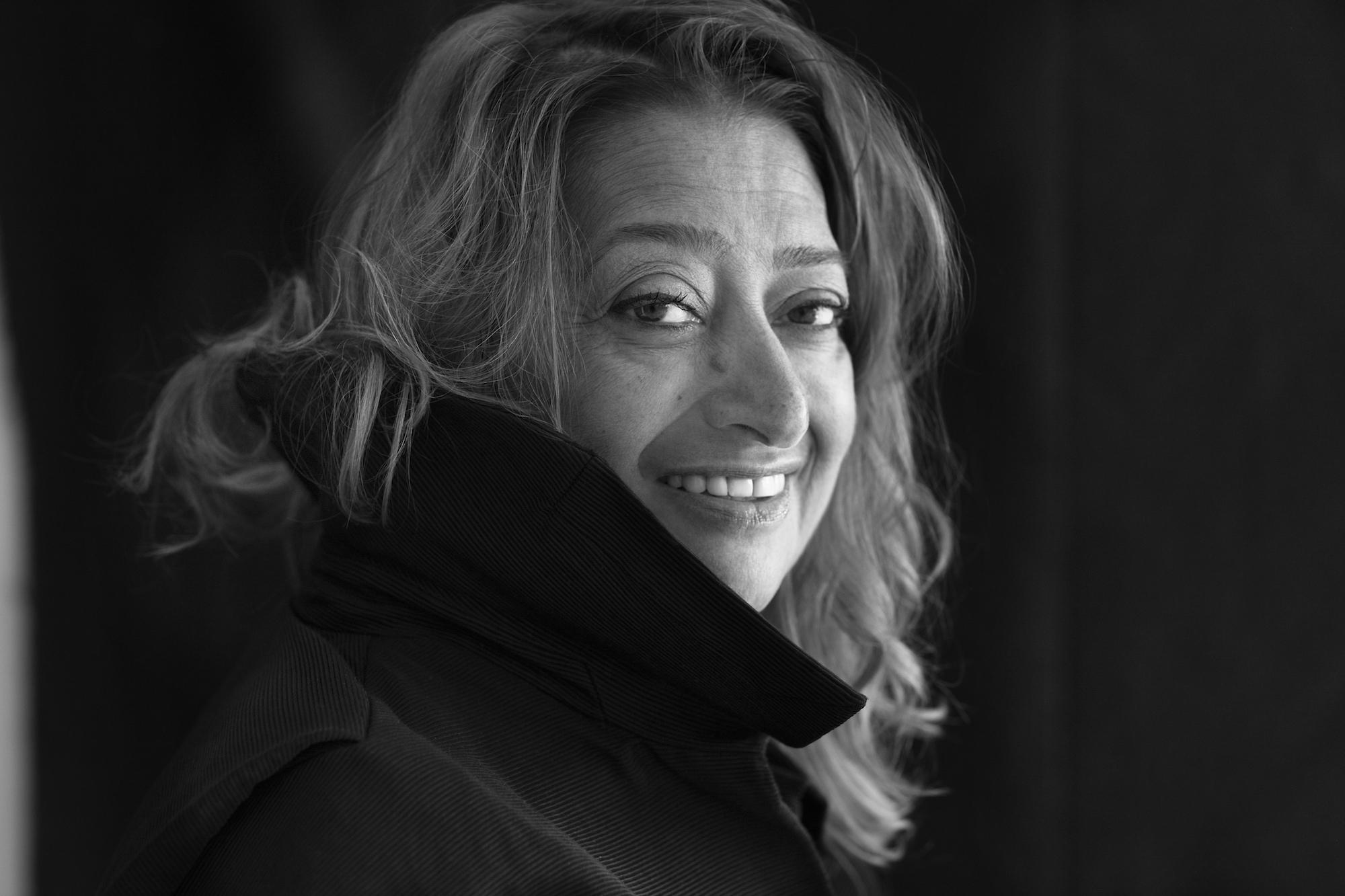 Zaha Hadid by Brigette Lacombe