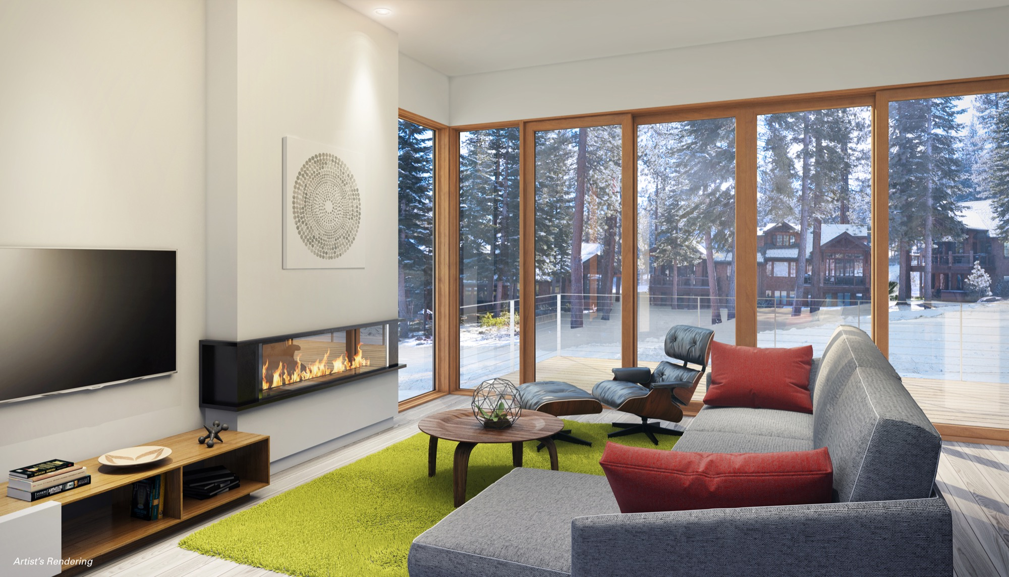 Stellar Collection at Northstar, rendering