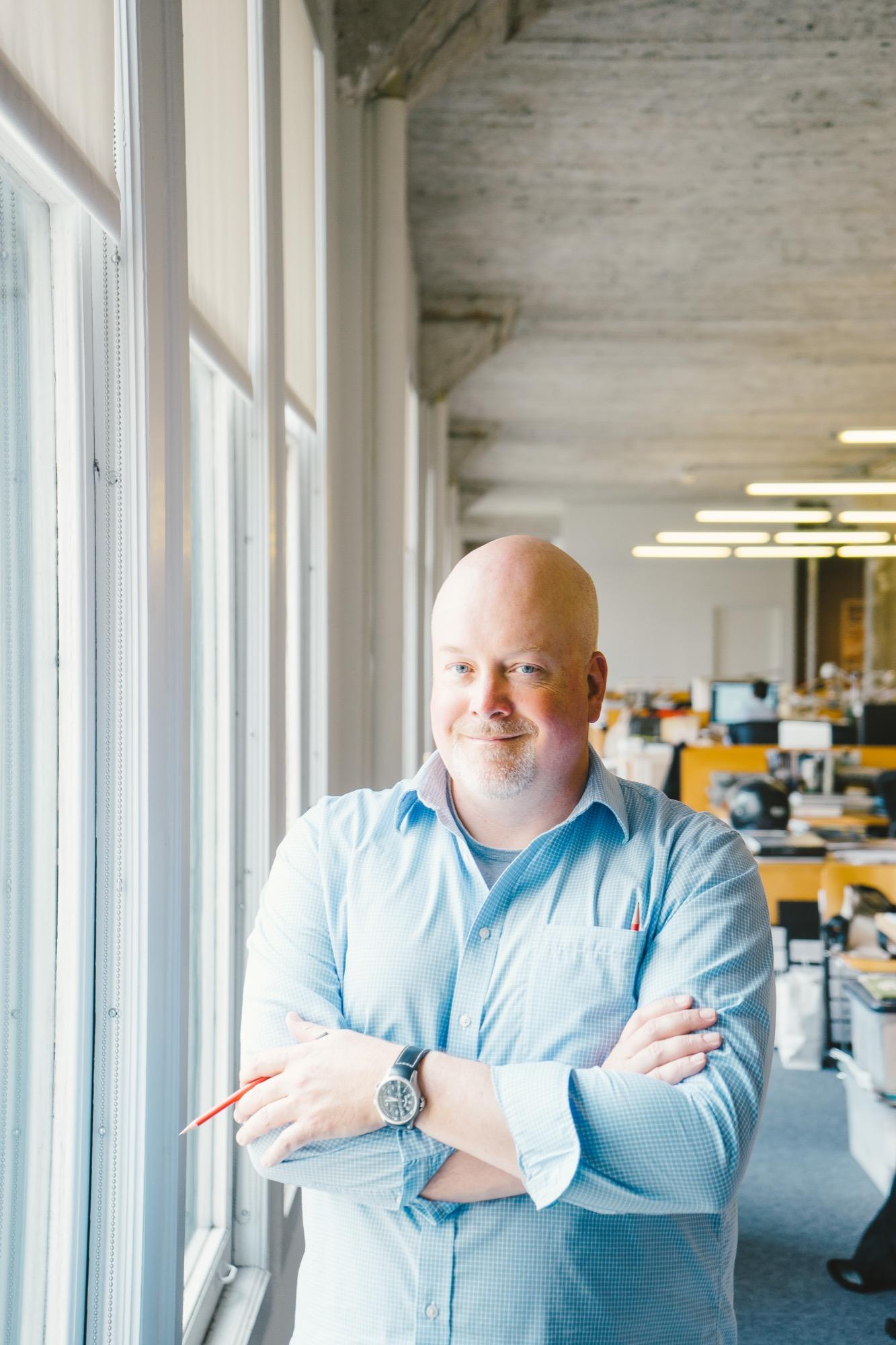 Architect Greg Mottola / Photo by Joel Baer