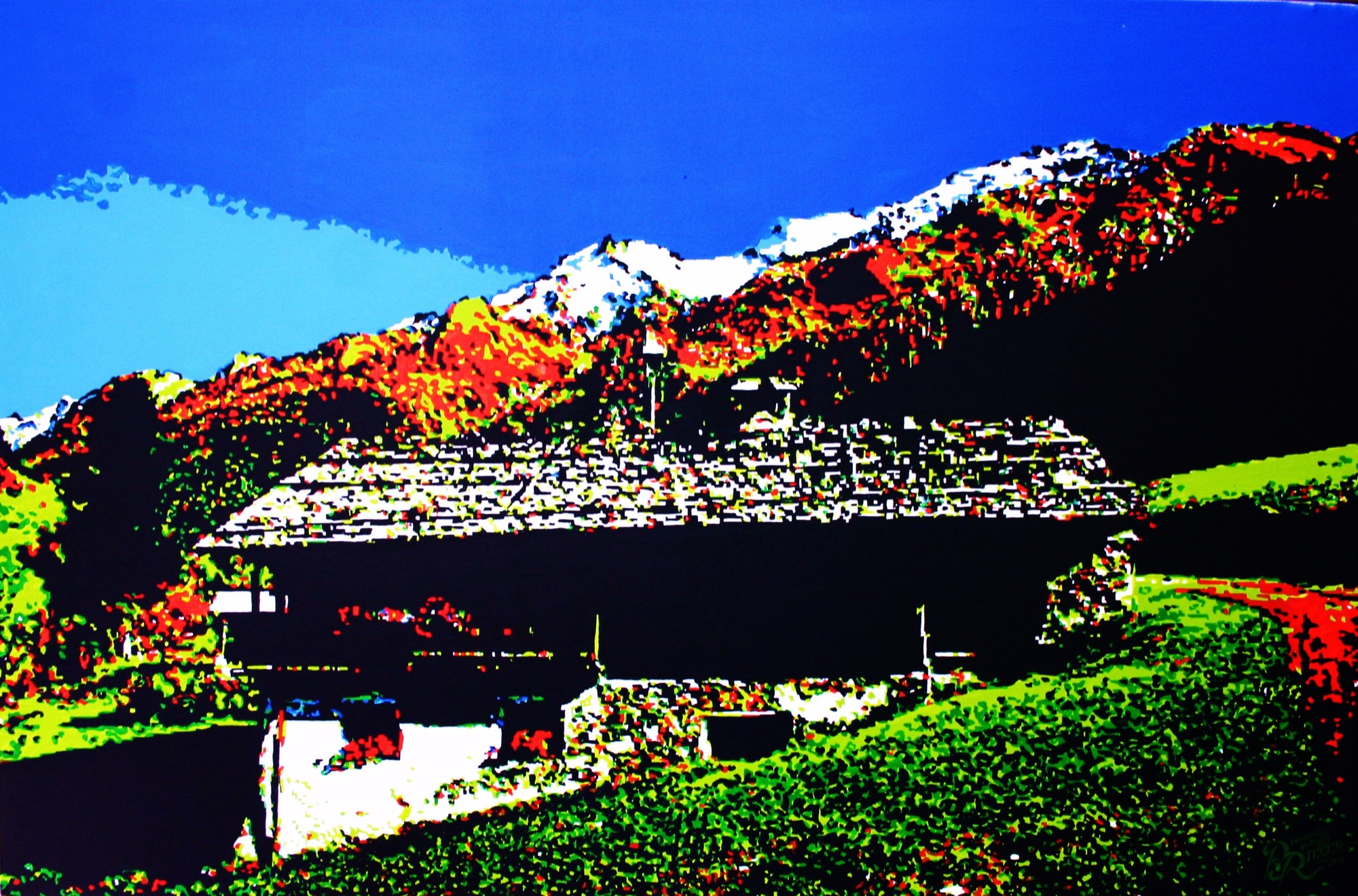 Even Rieger's funky alpine pop art is deeply rooted in Bavarian tradition