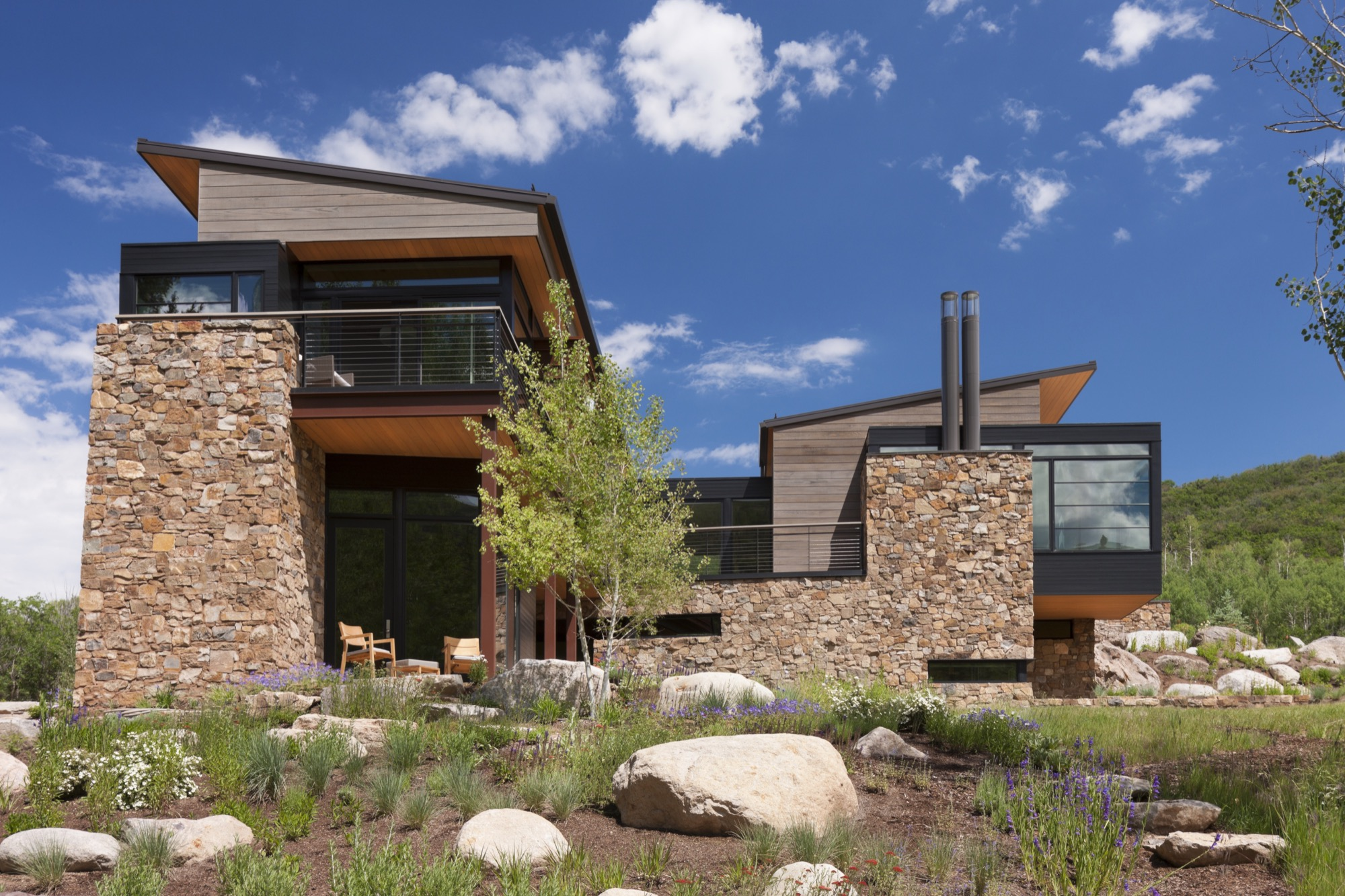 Meadow Creek residence in Colorado by Cottle Carr Yaw Architects