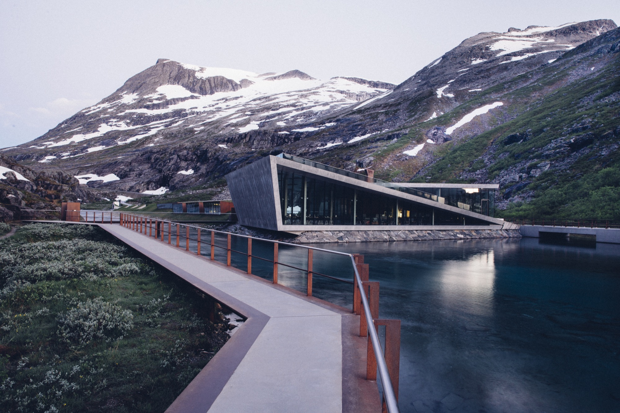 Trollstigen Road Visitor Center by Reiulf Ramstad Architekter / Photo by Lars Schneider