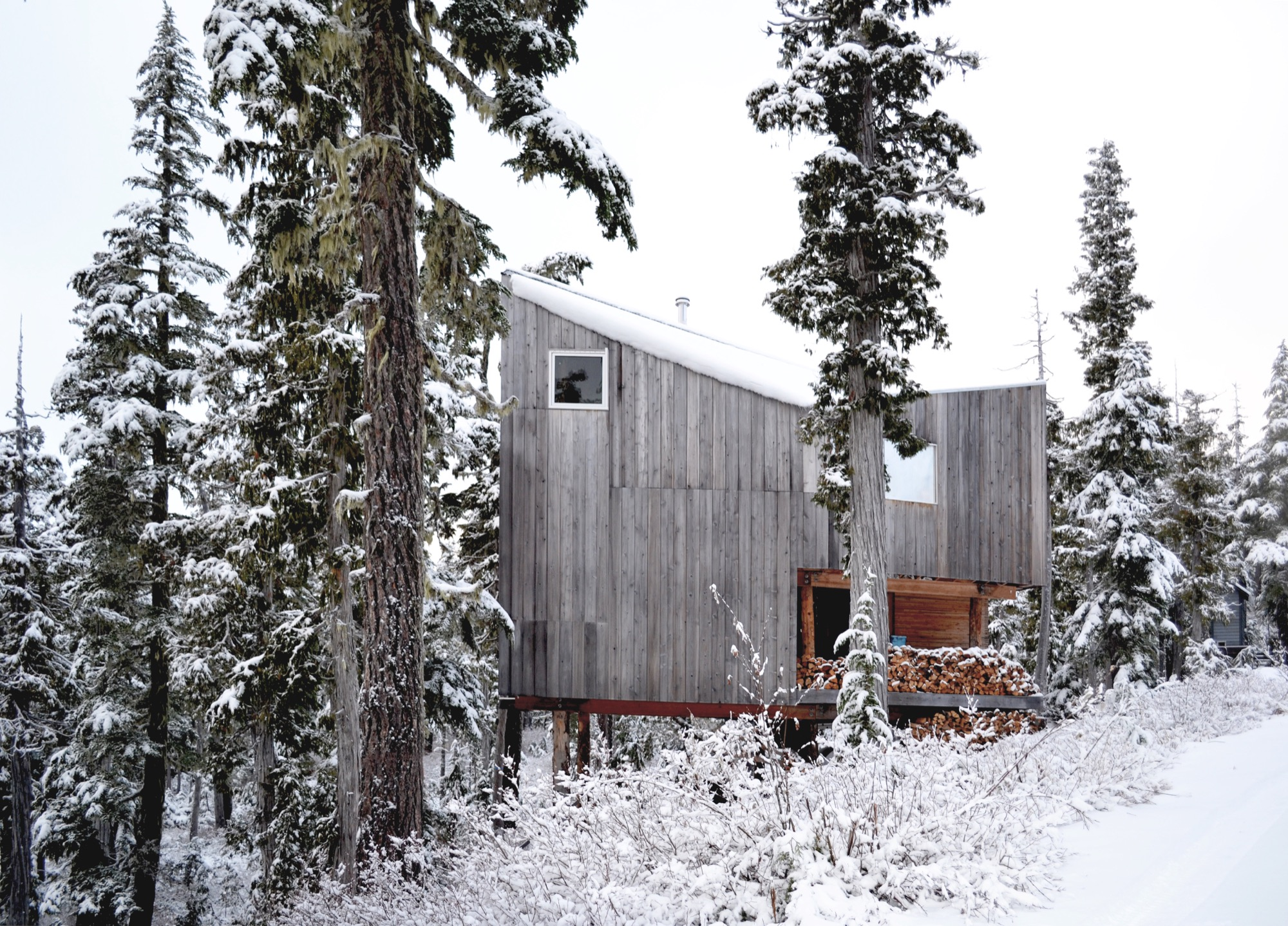 Susan and David Scott built their own family cabin on Vancouver Island as the foundation project for their architecture firm