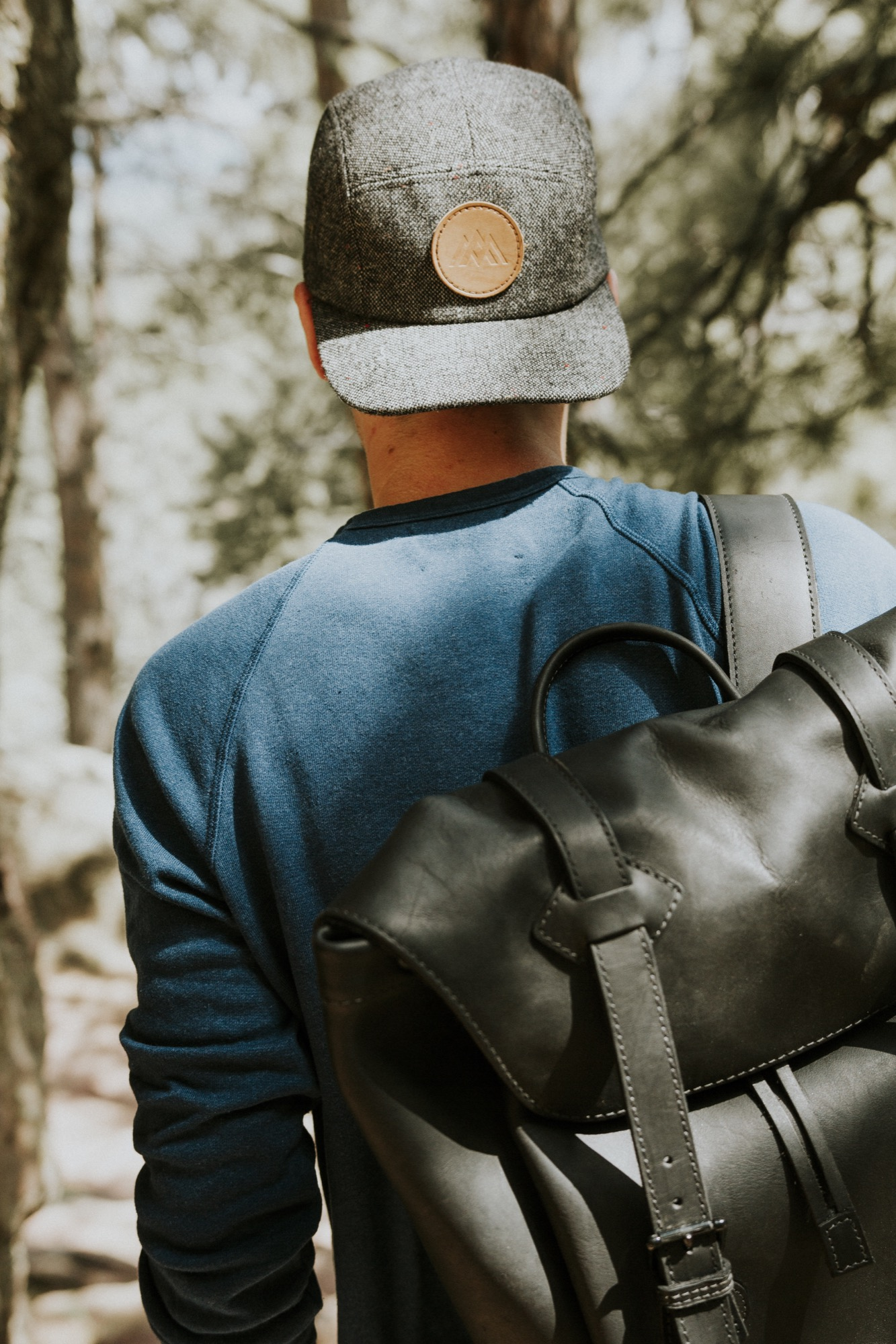 Trademark Poly-Twill Hat and Davos Daypack / Alpine Modern Summer 2016 Lookbook / Photo by Garrett King
