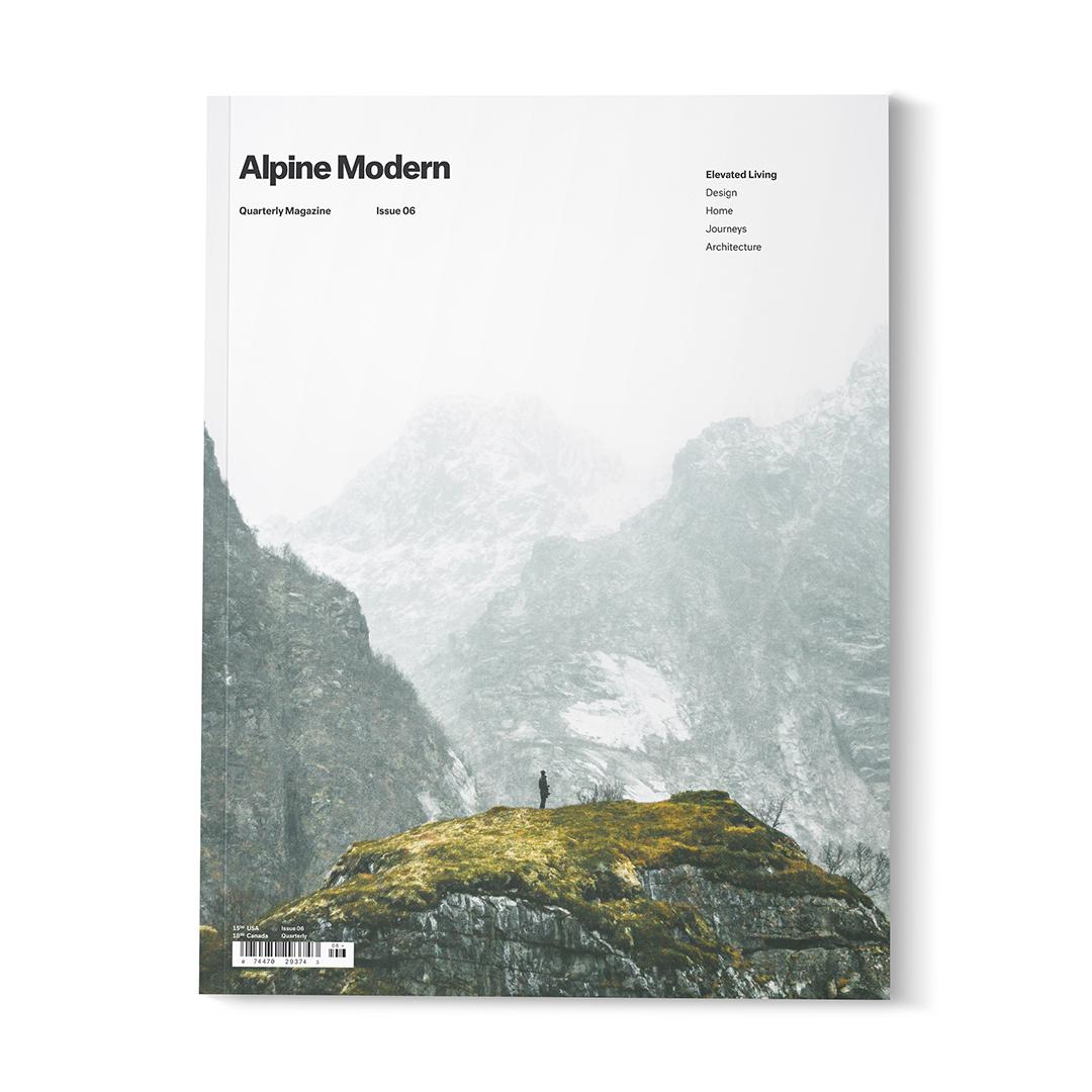 Alpine Modern Issue 06 / Photo by Garrett King