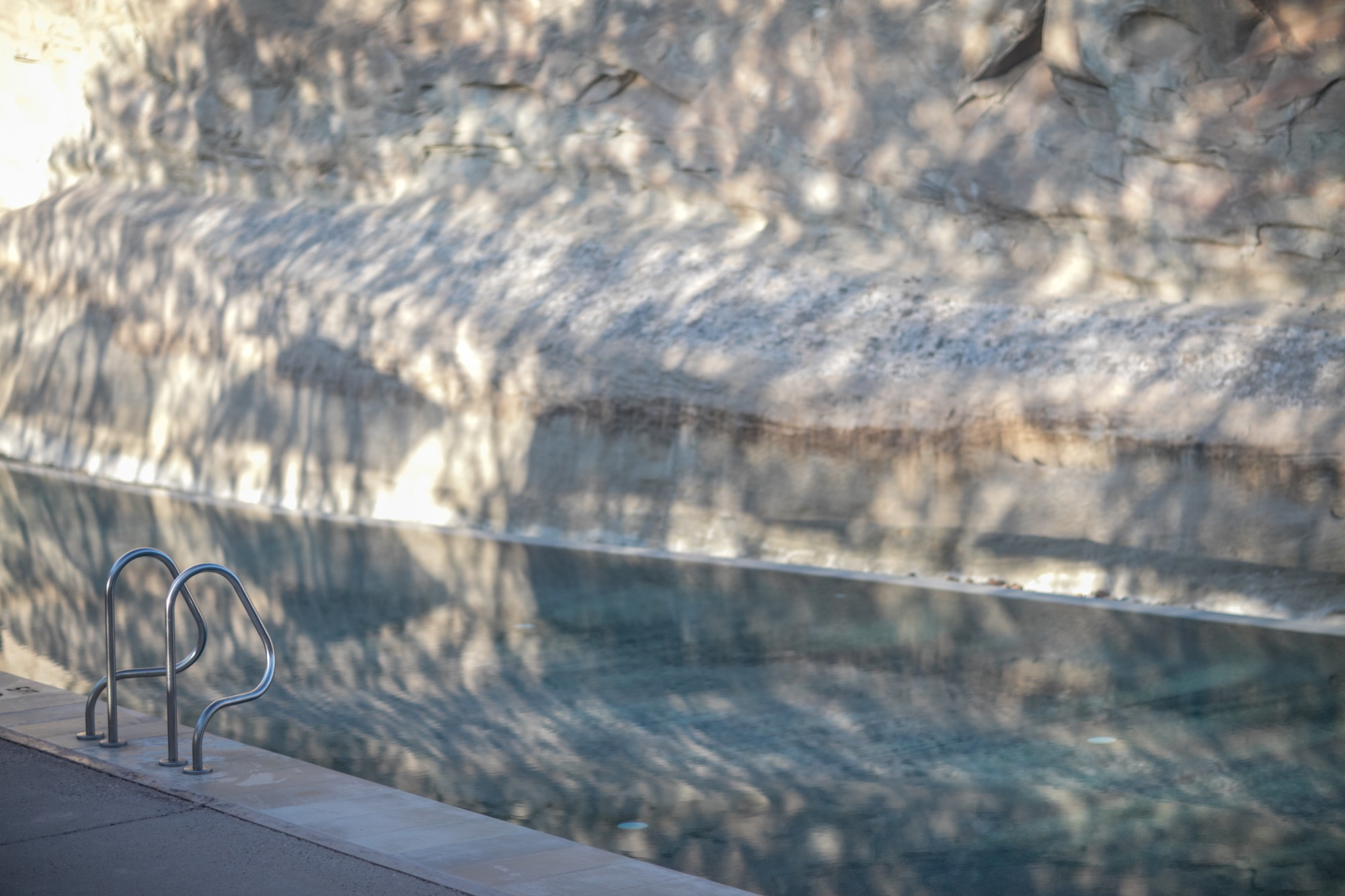 Pool at Amangiri Spa / Photo by Jake Weisz