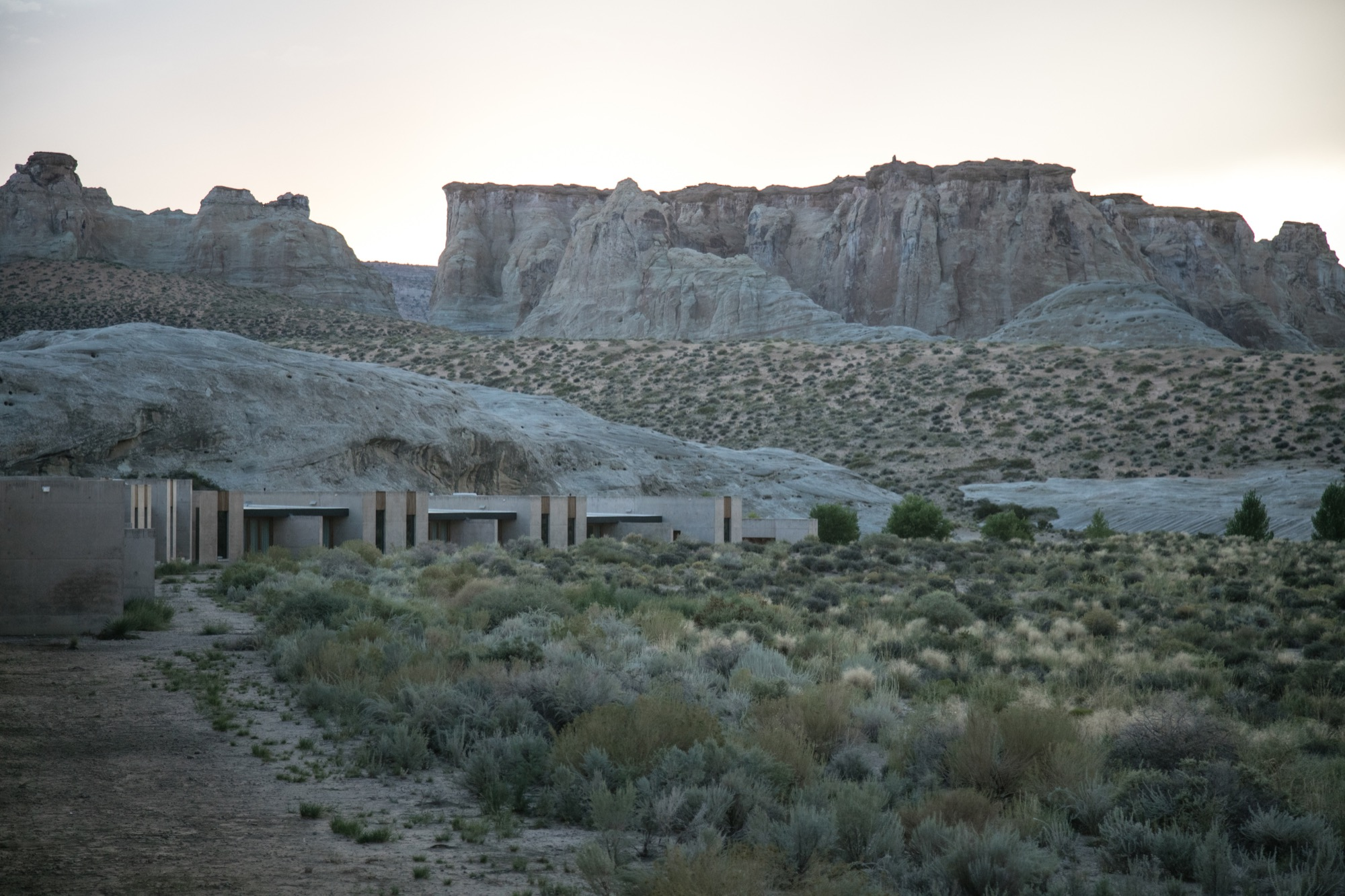 The Amangiri sits on 600 mostly wild acres / Photo by Jake Weisz