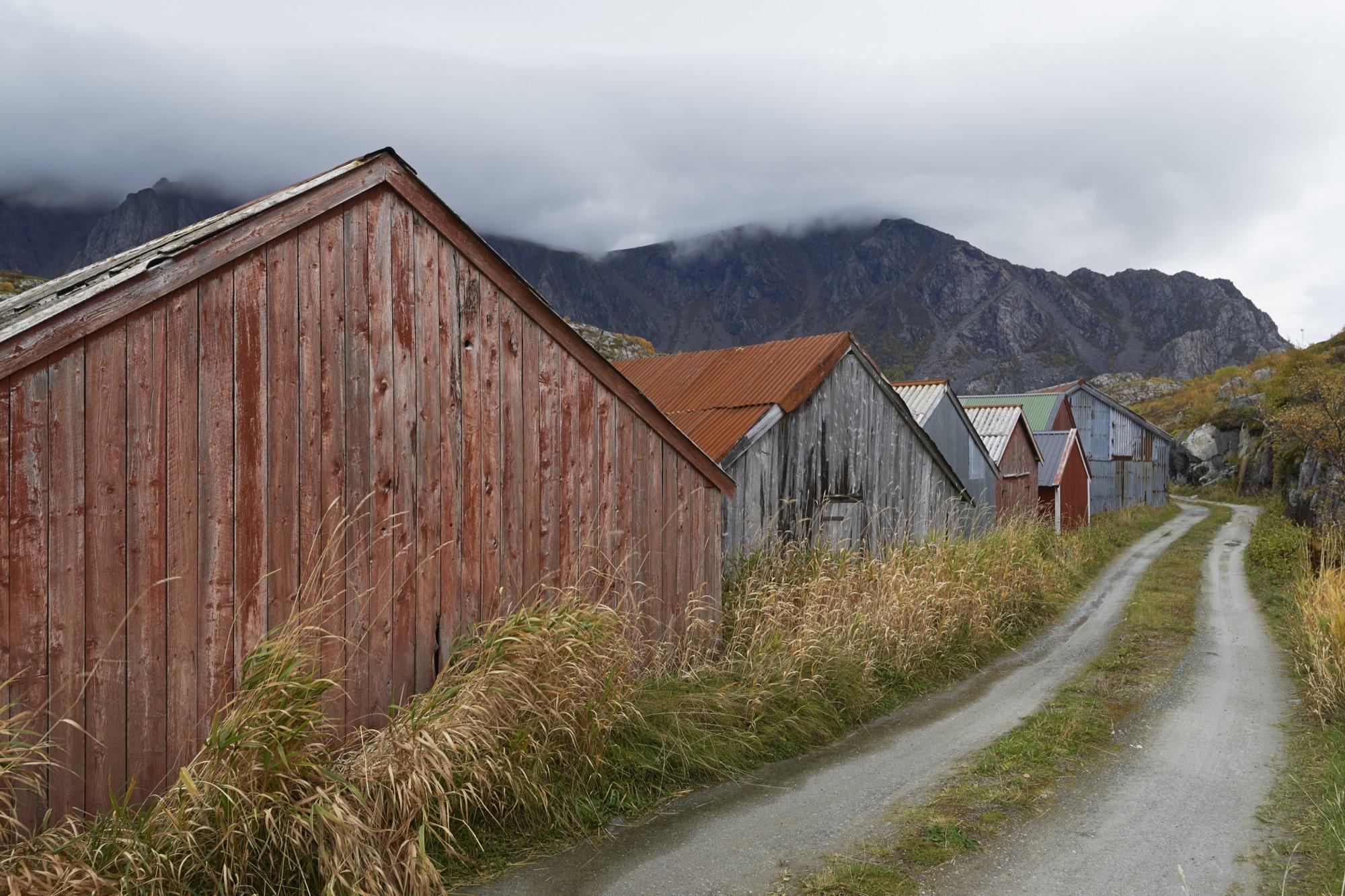 Traditional naust on Vega island / Photo by Åke E:son Lindman