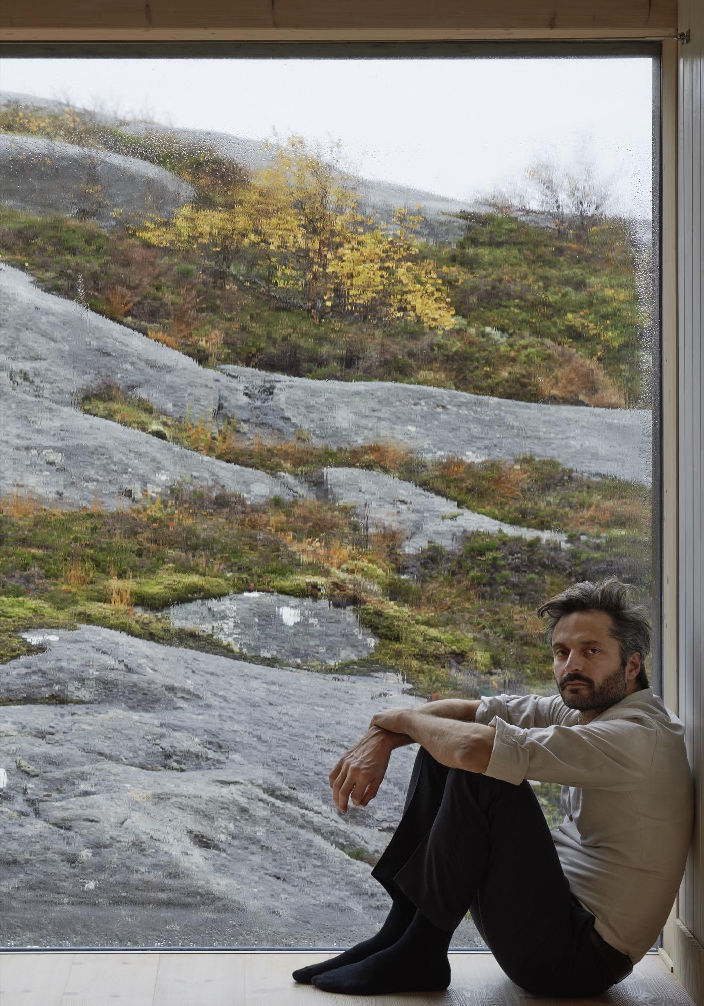 Architect Erik Kolman Janouch / Photo by Åke E:son Lindman