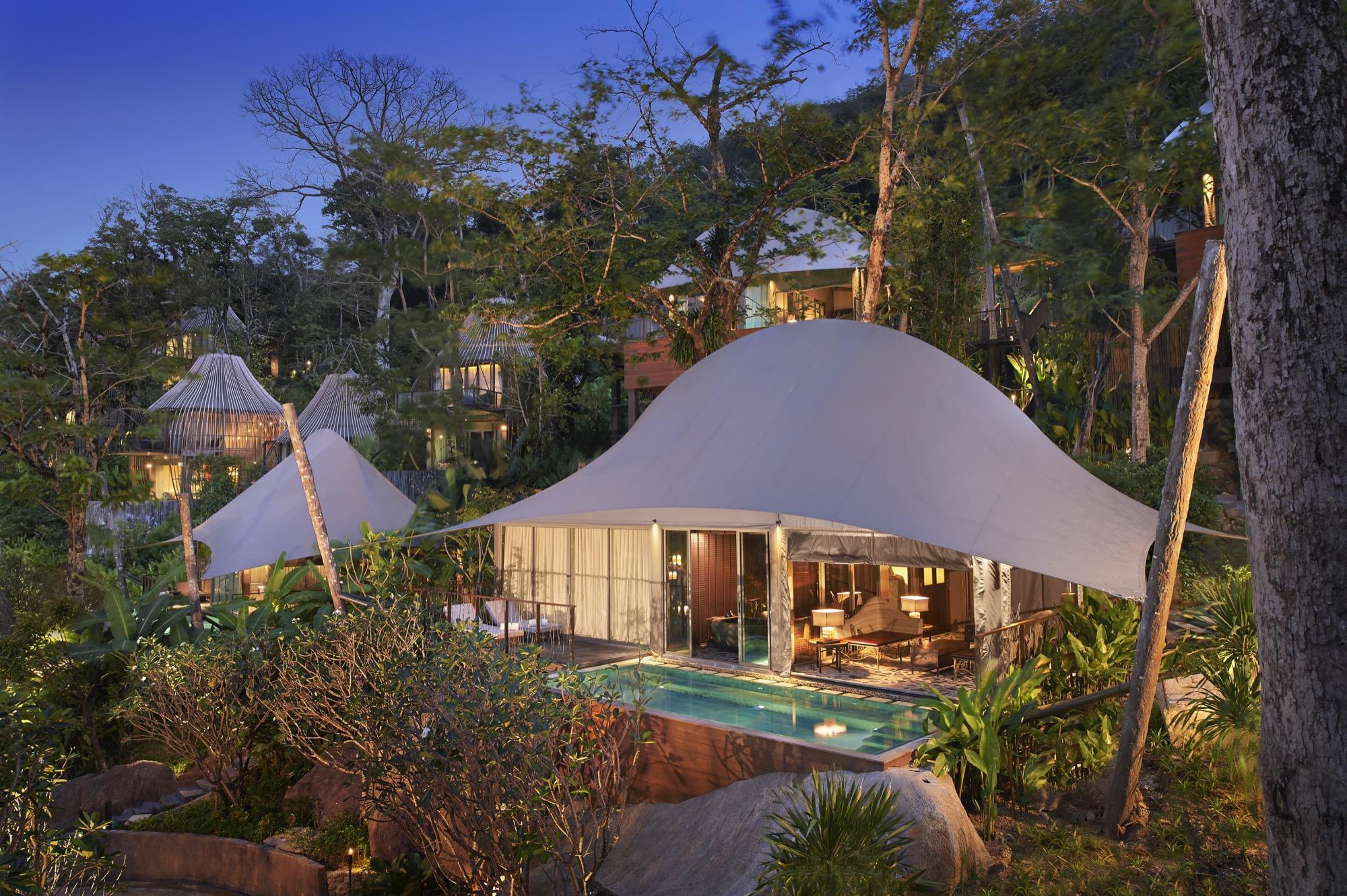 Tent Pool Villa