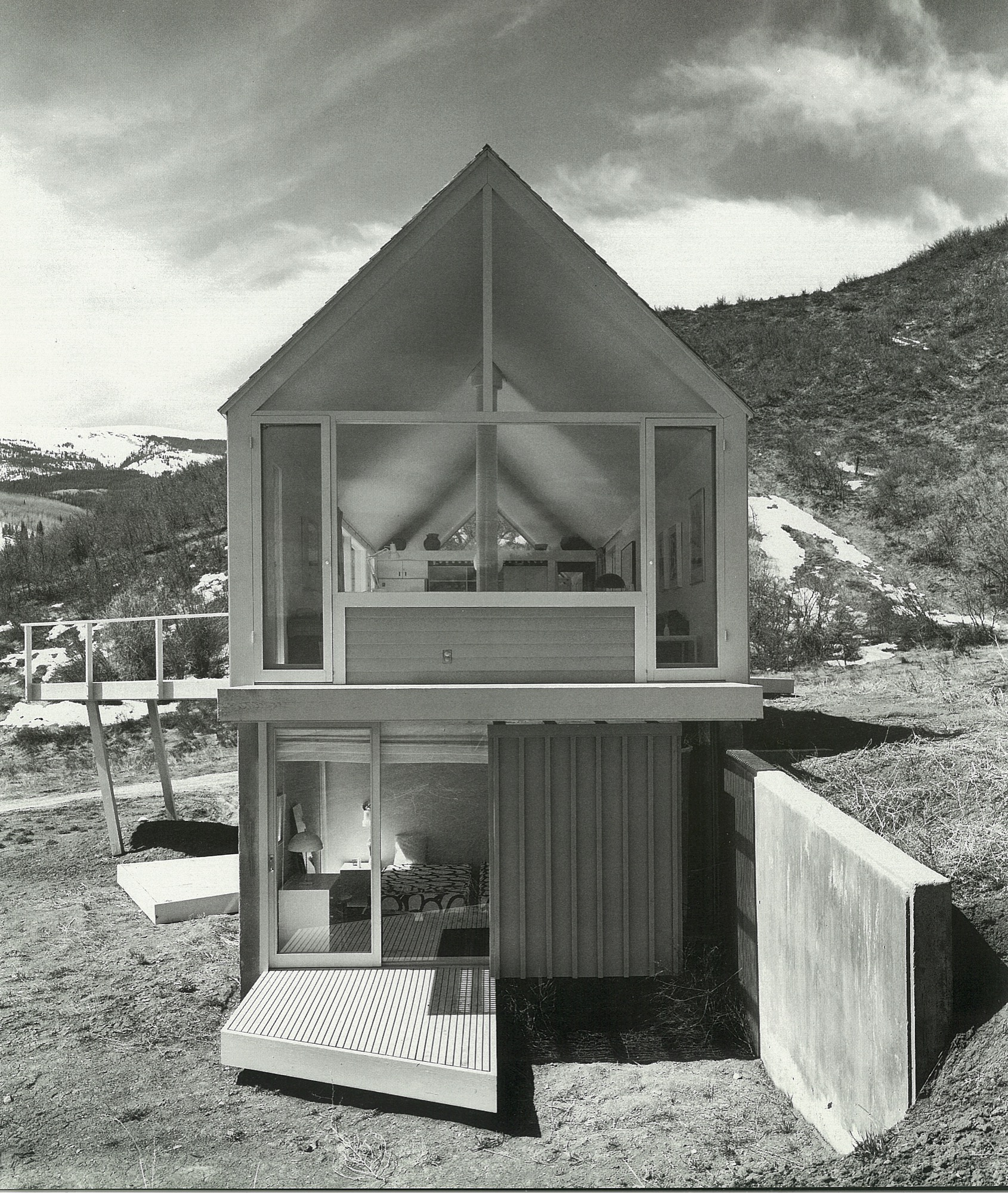 The Lavateili House in Snowmass, Colorado, designed by Harry Weese