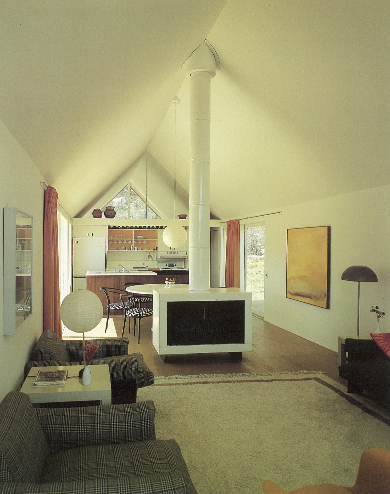 Harry Weese's Lavateili House in Snowmass, Colorado — interior