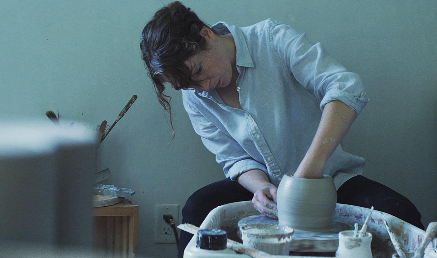 Ceramics artist Kelli Cain
