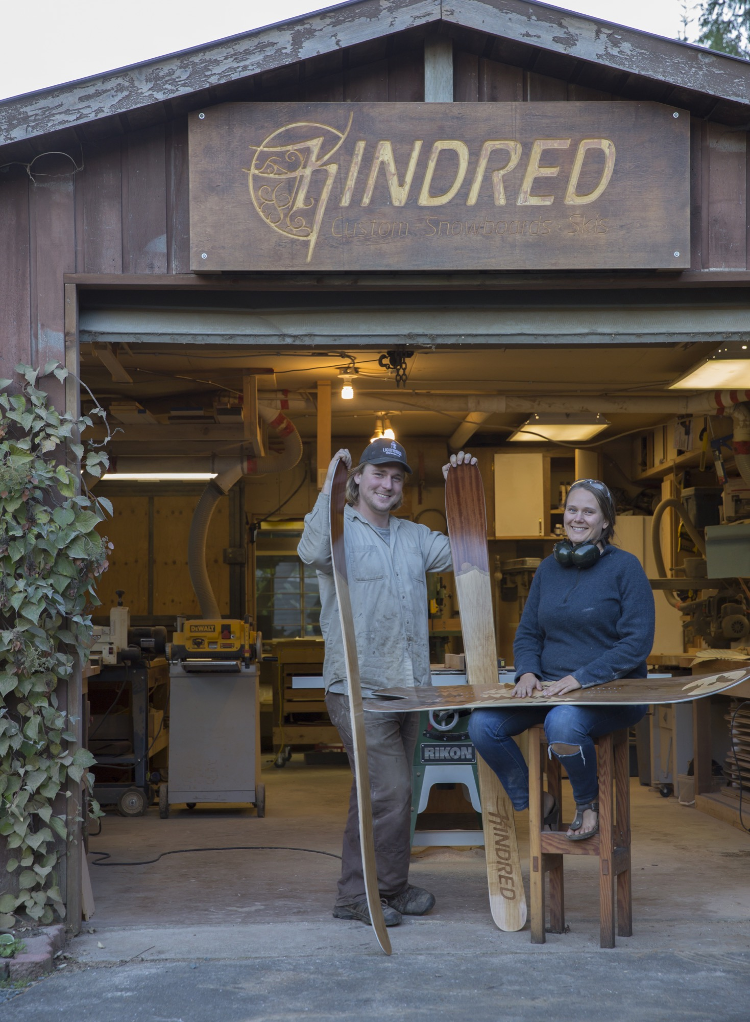 Kindred Snowboards / Photo by Andrew Pogue
