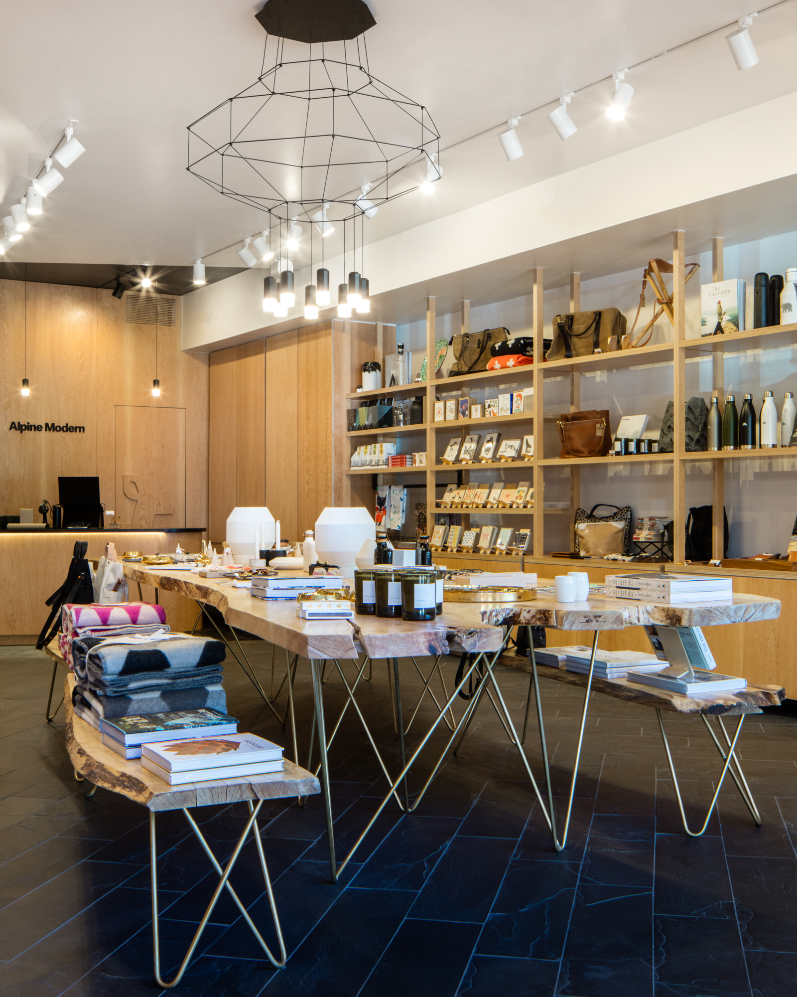 Alpine Modern Shop + Coffee Bar at Pearl West