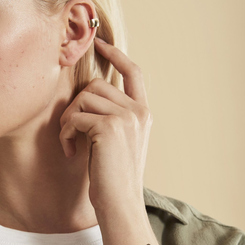Gold Ear Conch Cuff by Loren Stewart from Goop