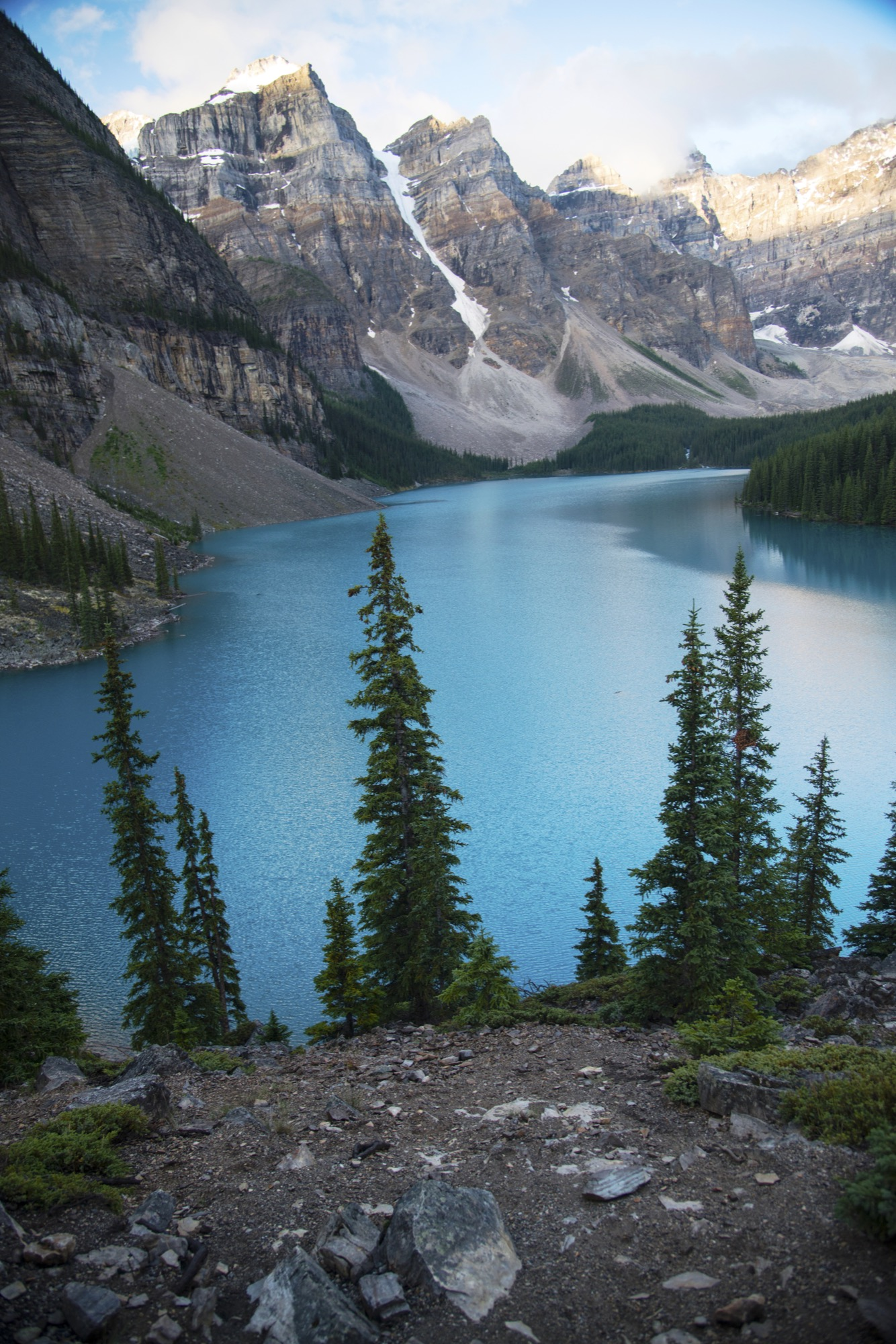 Moraine Lake at Sunrise / Photo by Joe Goldberg