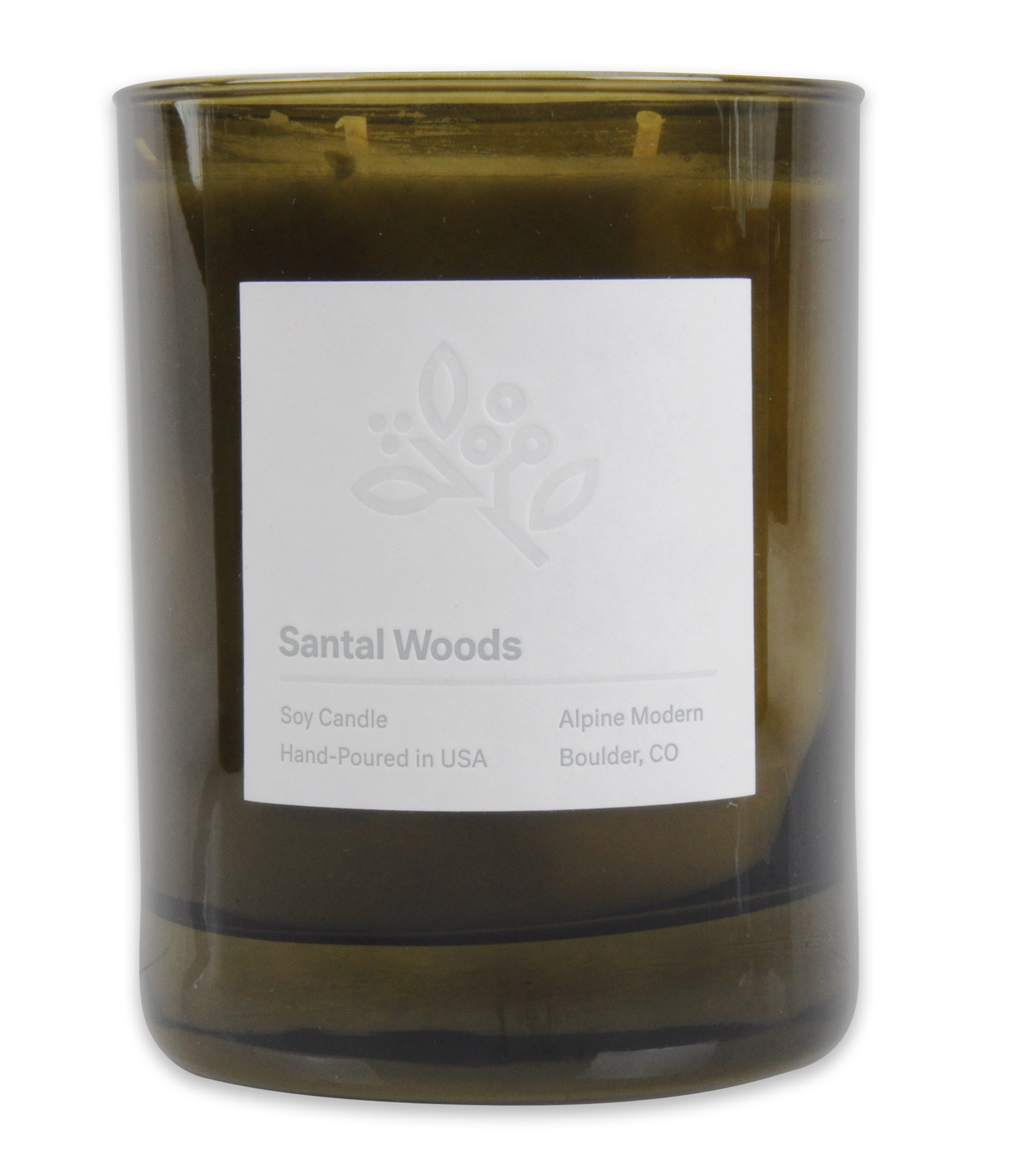 Santal Woods Candle / Alpine Modern