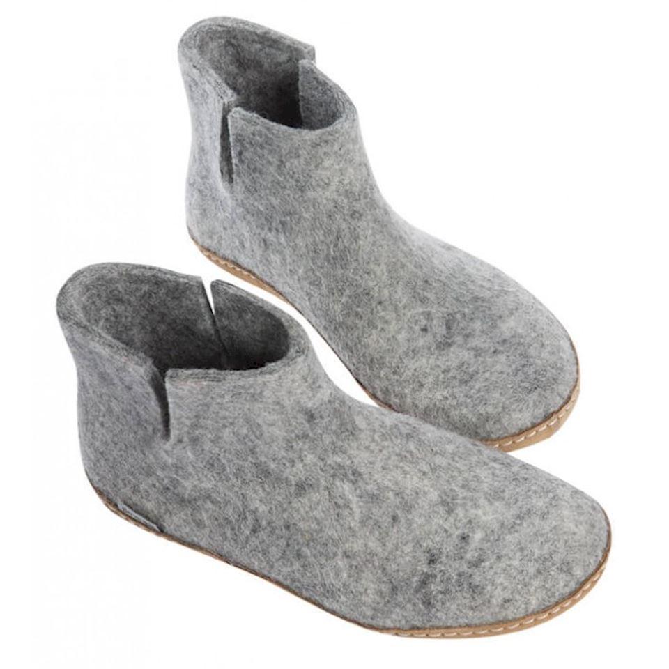Glerups felt ankle boots
