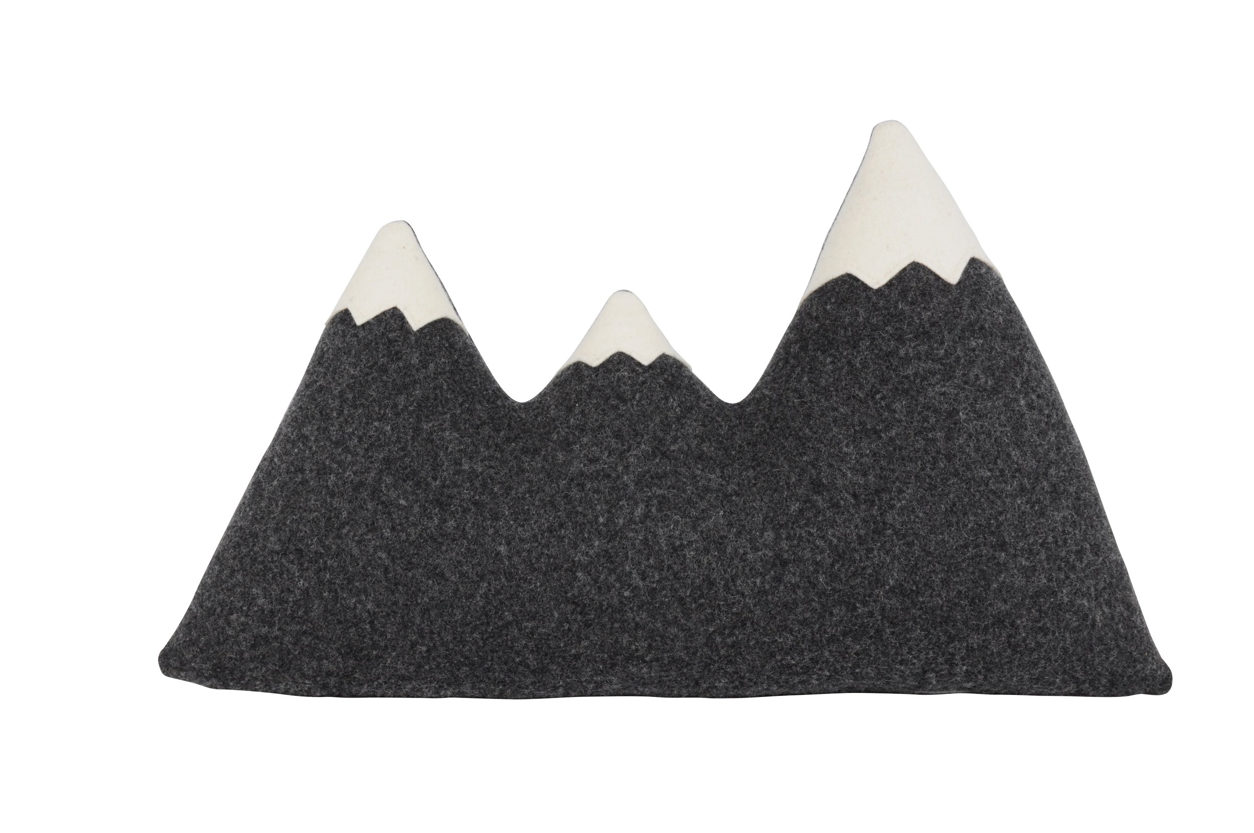Three Peak Mountain Pillow / Alpine Modern