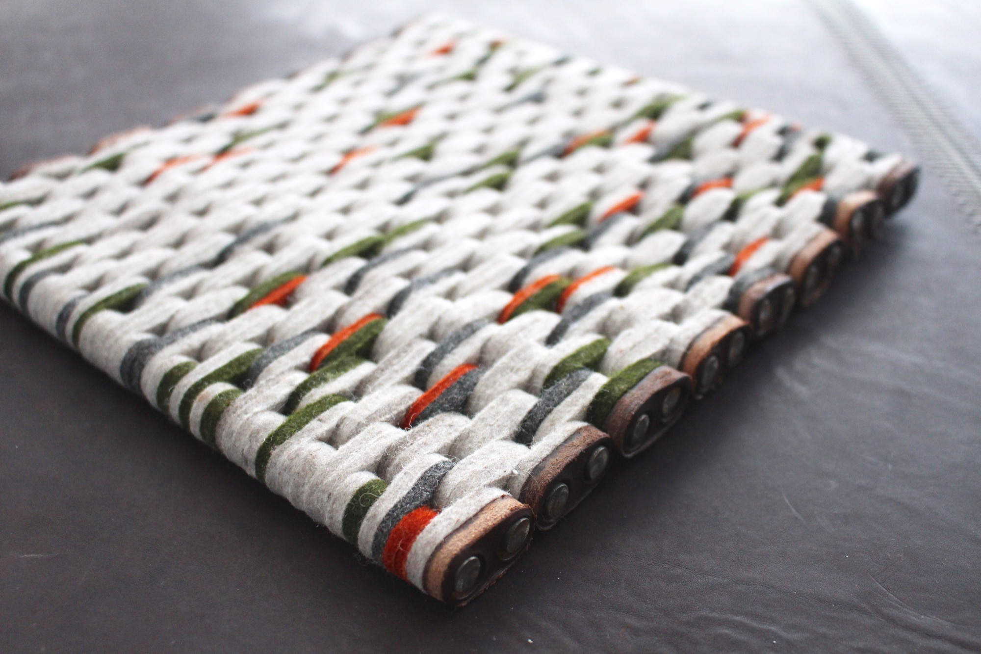 Linked Rug by Jim Zivic